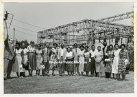 GB077 Unidentified Group in front of a Transformer Station.jpg