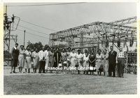 GB077.1 Unidentified Group in front of a Transformer Station.jpg
