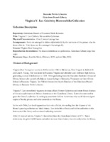 Virginia Y. Lee Celebrity Memorabilia Collection.pdf